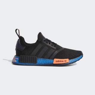 NMD_R1 Shoes Core Black / Signal Coral / Bluebird FV8525