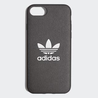Coque Basic Logo iPhone 8 Black / White CK6161