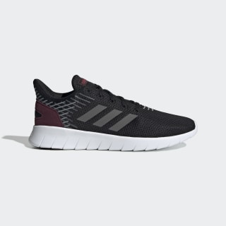 Zapatillas Asweerun core black/grey five/maroon EE8445