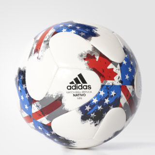 17 MLS Mini Soccer Ball White / Red / Blue AZ3212