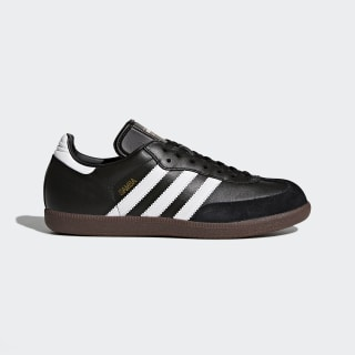 Samba Leren Schoenen Black / Footwear White / Core Black 019000