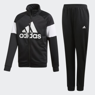 Badge of Sport Tracksuit Black / White DV1740