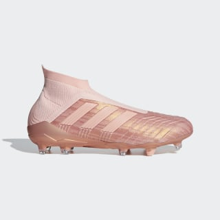 Zapatos de Fútbol PREDATOR 18+ FG CLEAR ORANGE F18/CLEAR ORANGE F18/TRACE PINK F17 DB2013