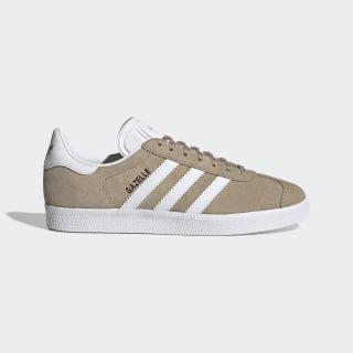 Gazelle Shoes Trace Khaki / Cloud White / Gold Metallic EE5539