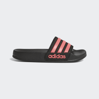 Adilette Shower Slides Core Black / Real Pink / Core Black EG6522