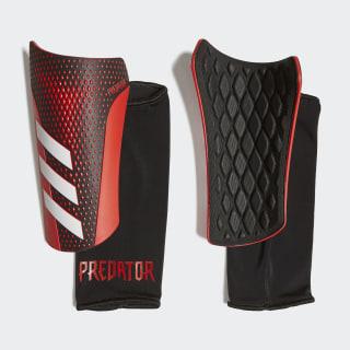 Caneleiras Predator 20 League Black / Active Red FM2408