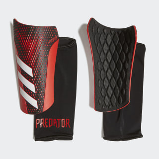 Predator 20 League Shin Guards Black / Active Red FM2408