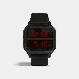 Archive_R2 Watch Black / Scarlet CL4747