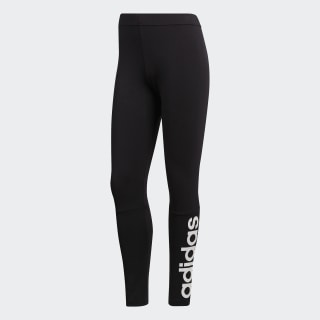 Calça Legging Linear Essentials Black / White S97155