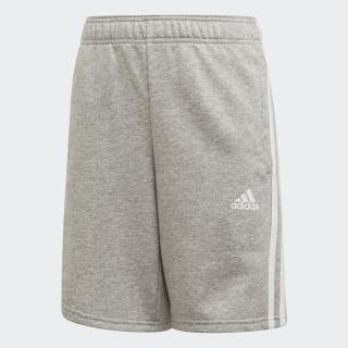 Must Haves 3-Streifen Shorts Medium Grey Heather / White ED6466