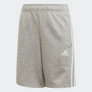Short Must Haves 3-Stripes Medium Grey Heather / White ED6466