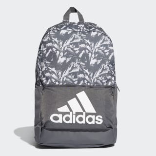 Classic Badge of Sport Graphic Backpack Grey Six / Raw White / White DT2594