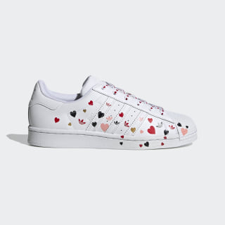 Superstar Shoes Cloud White / Core Black / Glory Pink FV3289
