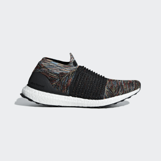 UltraBOOST LACELESS Core Black / Shock Yellow / Active Red B37687
