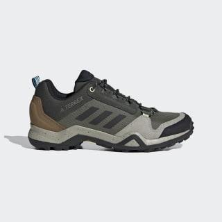 Terrex AX3 Bluesign Hiking Shoes Legacy Green / Core Black / Glory Blue EF0338