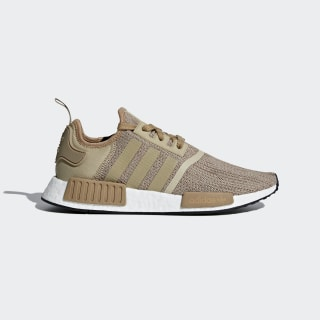 Sapatos NMD_R1 Brown/Raw Gold/Cardboard/Ftwr White B79760