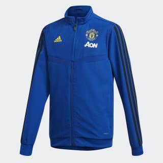 Manchester United Presentation Jacket Collegiate Royal / Black DX9041