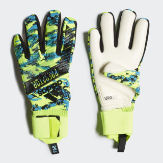 Predator Pro Manuel Neuer Gloves Solar Yellow / Bright Cyan / Black DY2624
