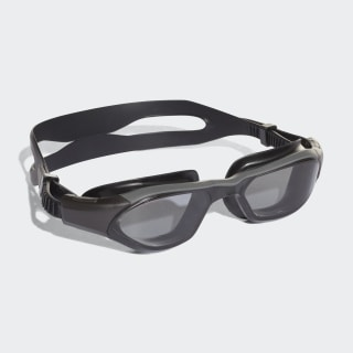 persistar 180 unmirrored swim goggle junior Smoke Lenses / Utility Black / Utility Black BR5845