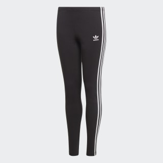 Calça Legging 3-Stripes Black / White ED7820