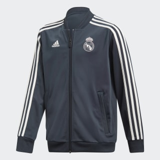 Real Madrid Polyester Jacket Blue / Core White CW8635