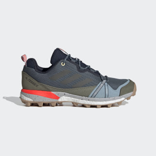 Sapatos de Caminhada Skychaser LT TERREX Legacy Blue / Legend Earth / Solar Orange EF0354
