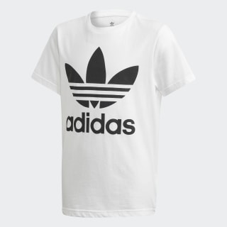 T-shirt Trefoil White / Black DV2904