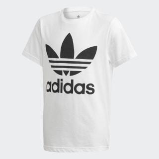 Tričko Trefoil White / Black DV2904