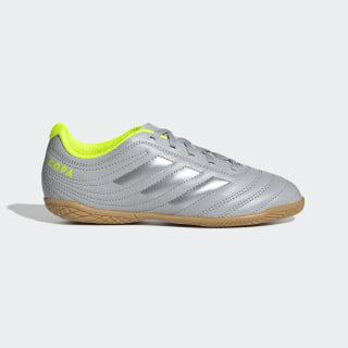 Chaussure Copa 20.4 Indoor Grey Two / Matte Silver / Solar Yellow EF8354