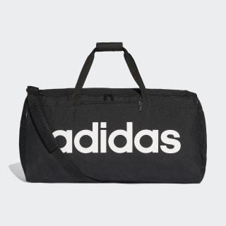 Bolsa de deporte grande Linear Core Black / Black / White DT4824