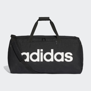 Linear Core Duffel Bag Large Black / Black / White DT4824