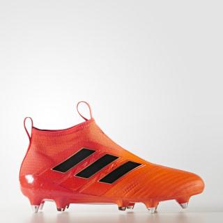 Футбольные бутсы ACE 17+ Purecontrol SG solar orange / core black / solar red BY2188