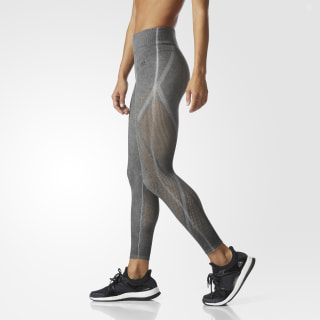Wanderflow Warp Knit Tights Washed Black CE7617