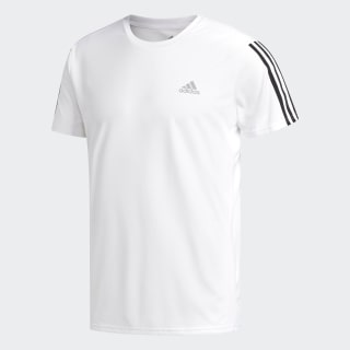 T-shirt Running 3-Stripes White / Black DN9041