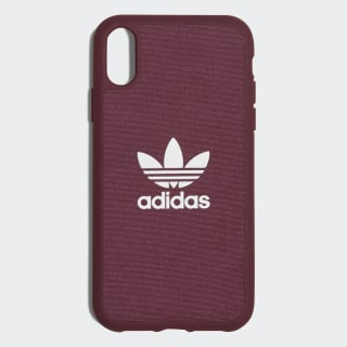 Canvas Molded Case iPhone 6.1-Inch Maroon / White CL2360