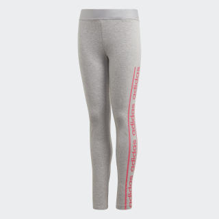 Calça Legging Medium Grey Heather / Real Pink EH6127