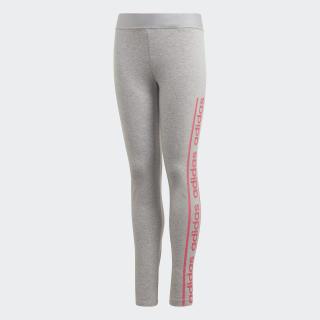 Calzas Medium Grey Heather / Real Pink EH6127