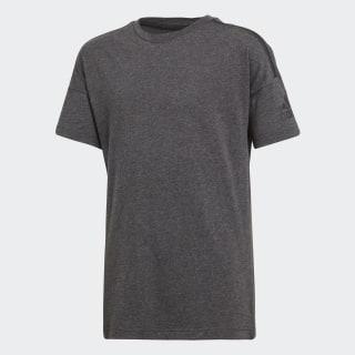 adidas Z.N.E. Tee Grey / Black Melange CW0639