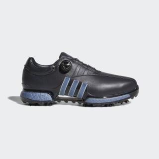 Tour360 EQT Boa Shoes Carbon / Boost Raw Steel Metallic / Carbon AC8405