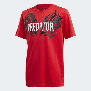Predator Graphic T-Shirt Vivid Red FL2754