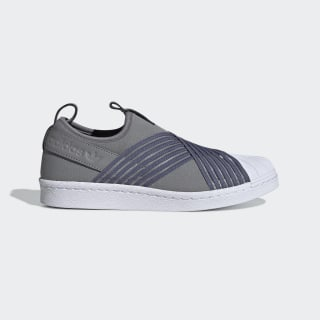 Zapatillas Superstar Slip-on Grey Three / Raw Indigo / Night Cargo CG6012