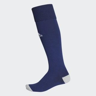 Milano 16 Sokker, 1 par Dark Blue / White AC5262