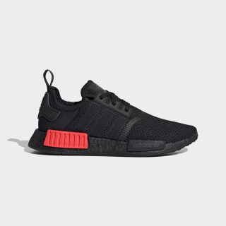 NMD_R1 Shoes Core Black / Core Black / Solar Red FV8162