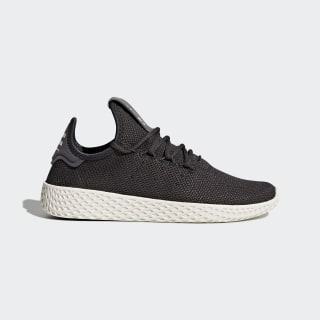 Pharrell Williams Tennis Hu Shoes Carbon/Carbon/Chalk White CQ2297