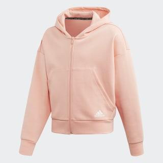 Must Haves 3-Stripes Hoodie Glow Pink / White ED4624