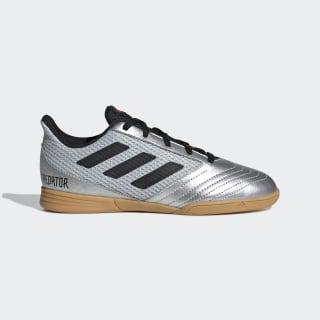 Calzado de Fútbol Predator 19.4 Futsal Silver Metallic / Core Black / Hi-Res Red G25829