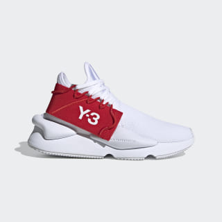 Y-3 Kaiwa Knit Cloud White / Cloud White / Red FV4562