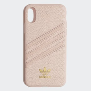 Snake Molded Case iPhone X Clear Pink / Gold Metallic CK6215