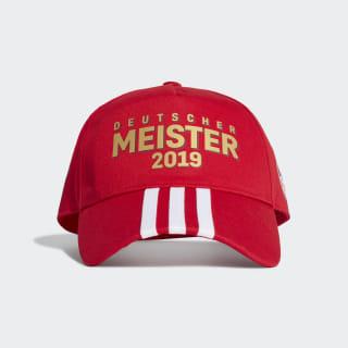 FCB Meister Cap Scarlet GC9997
