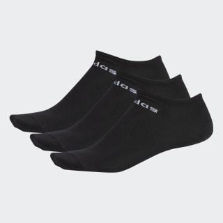 Meias Invisíveis 3 Pares black/white DM8706